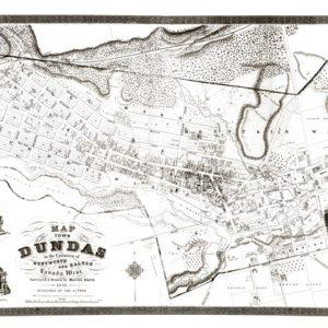 1851 Map of Dundas