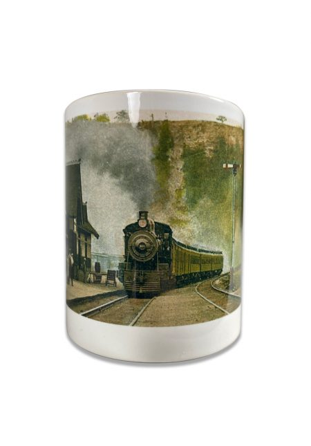 Train Mug Inset