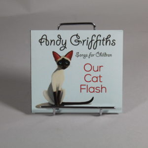 CD- Our Cat Flash by Andy Griffiths