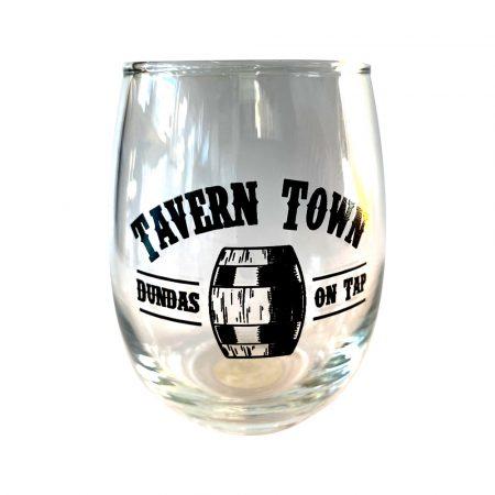 Tavern Town Sampler Glass