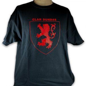 Clan Dundas T-Shirt front