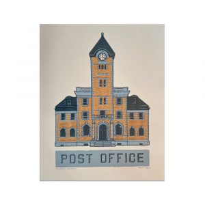 Post Office Art print by the Jelly Brothers